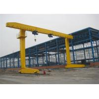 Quality Single Beam 10 Ton Electric Travelling Gantry Crane , Adjustable Height Gantry Crane for sale