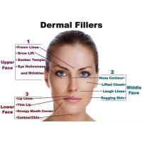 Quality Derm Deep Hyaluronic Acid Fillers Nasolabial Folds / Hyaluronic Acid Gel Injection With Li for sale