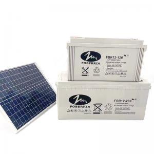 Quality Lead Acid 12v 200ah Solar Battery for sale