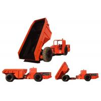 Quality 10t Low Profile Dump Trucks RT-10 Red Color With Deutz Diesel Engine for sale