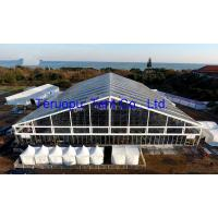 China Huge Clear Party Tent Transparent Cover Clear Outdoor Tent With Glass Wall on sale