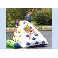 China Outdoor commercial use iceberg inflatable water game for sale from China inflatable water toy factory on sale