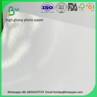 Quality Wholesale high quality 250g Wax Coated  high glossy  cast coated paper Paper for sale
