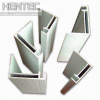 Quality Standard aluminium extrusion profiles / shapes 6063 - T5 10 um for sale