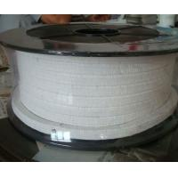 Buy White Low Friction Pure PTFE Packing glands Self lubricant For Valve stems at wholesale prices