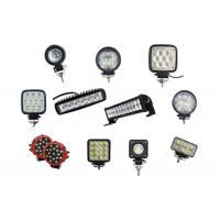 Buy 10'' 225W Round LED Work Lights Auto Parts Plug And Play LED Driving Lamps at wholesale prices
