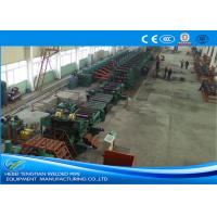 Quality Low Carbon Steel ERW Pipe Mill Making Machine Rectangular Pipe Shape for sale