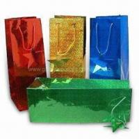 Quality Promotional Paper Shopping Bags in Fashionable Design, Eco-friendly for sale