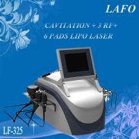 Quality 2015 HOTTEST!! Portable Cavitation RF Lipo Laser Machine For Sale for sale
