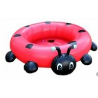 Quality Cartoon Coccinella Inflatable Water Toys For Lakes Baby Seat for sale