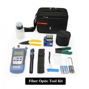 China Portable FTTH Fiber Optic Tool Kit , Network  Fiber Optic Installation Tool Kit on sale