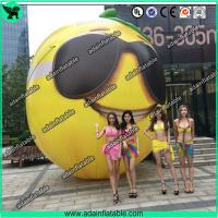 Quality Fruits Festival Event Inflatable Model Giant Inflatable Lemon Model/Sunglasses Advertising for sale