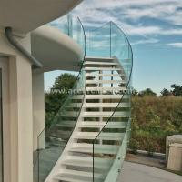 Buy Indoor Standoff Glass Railing Stainless Steel Staircase Railing Price India at wholesale prices