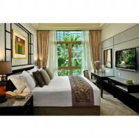 Buy cheap Solid Wooden Frame Complete Bedroom Sets Foam Density Above 40 Degree from wholesalers