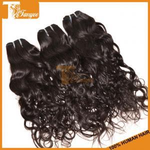 China Virgin Human Hair Natural Black Grade 7A Top Quality Brazilian Natural Wave Hair Weaving on sale