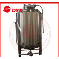 Quality Customized Bright Beer Tank Commercial , Steam Jacketed Tank Anti Aging for sale