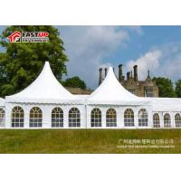 High Peak Pagoda Festival Party Tent 5X5M PVC Fabric Cover Elegant Design
