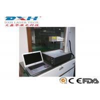 Quality 30 Watt Optical Fiber Laser Marking Machine For Phone Case All In One Structure for sale