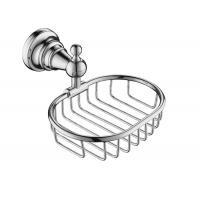 Quality Chrome Bathroom Accessory Shower Baskets And Shelves Mounting Hardware Included for sale
