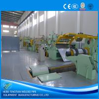 Quality 25 Strips Slitting Line Machine , PLC Control Steel Sheet Slitting Machine for sale