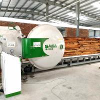 Quality Wood Dryer Kiln Oven With Radio Frequency Vacuum Wood Drying Machine Sales for sale