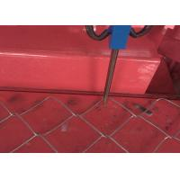 Buy cheap Semi - Automatic Wire Dia 4 mm 3 M Single Wire Chain Link Fence Machine from wholesalers
