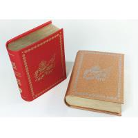 Buy Customized Size Cardboard Paper Boxes That Look Like Books Magnetic Flap Box at wholesale prices