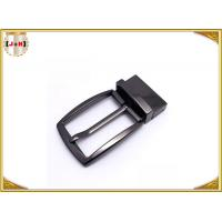 Quality Simple Reversible Custom Metal Belt Buckles With Die-Casting Plating for sale