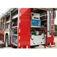 Scientific Lighting System Airport Rescue Truck , Electric Warning Siren Aircraft Fire Truck