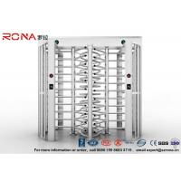 Quality Robust Full Height Turnstile Access Control Barrier Gate Anti Fingerprints Surface for sale