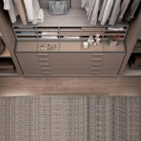 Quality New Metal Plate Wardrobe Step-in Cloakroom Fashion and Environmental Wardrobe for sale