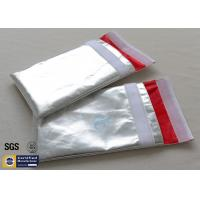 Quality Fireproof Document Bag Envelope Non Irritating Heat Reflective Fiberglass Cloth for sale