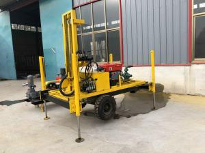 Quality Dia300mm Borehole Drilling Machine , ISO Hydraulic Well Drilling Rig for sale