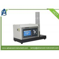 Quality ISO 4589-2&ASTM D2863 Minimum Oxygen Concentration Index Tester with LCD Display for sale