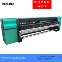 Quality 4 Pcs Konica 512I Heads 3.2M Wide Format Color Printer For Flex Banner Printing for sale