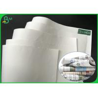 Buy Grade AA 869mm 889mm 50gsm 55gsm 60gsm White Printing Paper For Magazine at wholesale prices