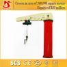 Fixed Column 360degree rotation cantilever jib crane for sale
