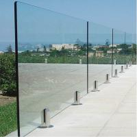 Quality Deck Railing for Villa / Modern Stainless Steel Glass Railing / Balcony Railing Outdoor Design for sale