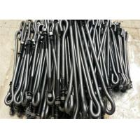 Quality Hardware T Type / J Type Foundation Anchor Bolts M16 For Concrete Mining Industry for sale