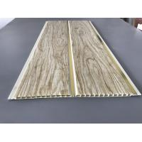 Buy Customized Plastic Bathroom PVC Wood Panels , Bathroom Ceiling Cladding Panels at wholesale prices