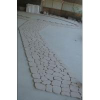Quality Cream White, Light Pink Granite Pavers, Granite Paving Stone for sale