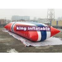 China Durable Inflatable Water Toys / Blow Up Water Jumping Airbag Water Blob on sale