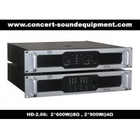 Quality 8Ω Stereo Output 2 X 600W Analog Audio Amplifier For Living Event / Concert for sale