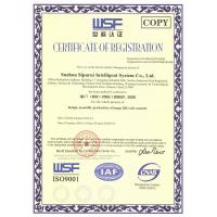 Suzhou SuperMax Smart System Co.,LTD Certifications