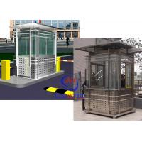 China Prefabricated Safety Guard Kiosk , Sentry Garden Shed Ce Approved on sale