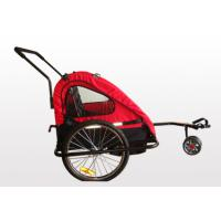 Quality High strength steel 2 in 1 Child Bike Trailer / Stroller for sale