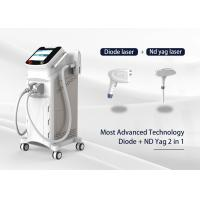 Quality Beauty Salon Mobile Laser Hair Removal Machine , High Power Laser Hair Treatment Machine for sale