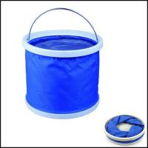 China Promotion Folding Water Bucket outdoor washing fishing gift on sale