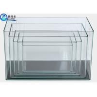 Buy Ultra Clear white Glass Arc 5 In 1 Set Mini Aquarium Fish Tanks Square at wholesale prices