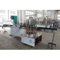 Quality Semi - Automatic 1L Drinking Liquid Water Bottle Filling Machine / Bottling Packing Line for sale